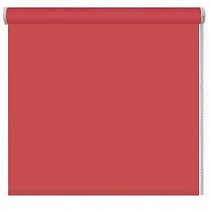 Рулонная штора однотонная, терракотовый, ширина 48 см-A