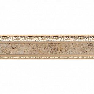"""Карниз потолочный пластиковый без поворота """"Гранд"""", 2 ряда, бронза, 140 см"""