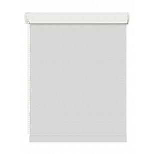 Рулонная штора ролло blackout, серый