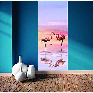 """Фотообои """"Фламинго"""", 92*220 см"""