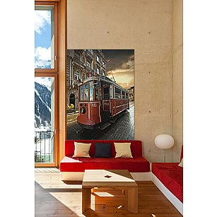 """Фотообои """"Трамвай"""", 194*270 см"""