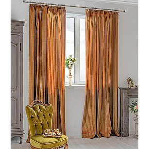 Комплект штор Francesco-700, оранжевый
