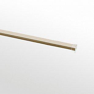 Шина (U-профиль) к карнизу стыкованная, золото антик