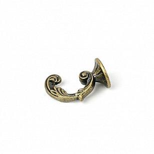 Крючок для штор СР-607-24, золото антик