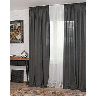 Комплект штор Rulli-70, серый (plata)