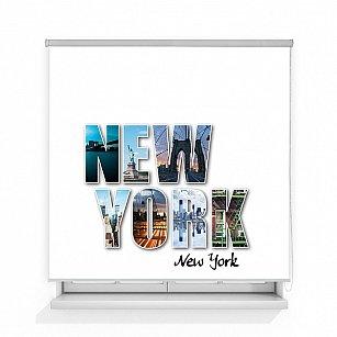 "Рулонная штора ролло термоблэкаут ""Нью-Йорк"""