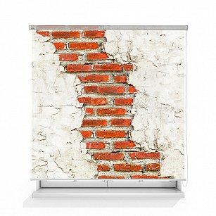 """Рулонная штора ролло термоблэкаут """"Старая стена"""""""