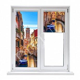 """Рулонная штора термоблэкаут """"Балконы Венеции"""""""