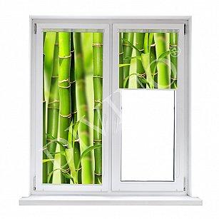 """Рулонная штора лен """"Бамбук"""""""