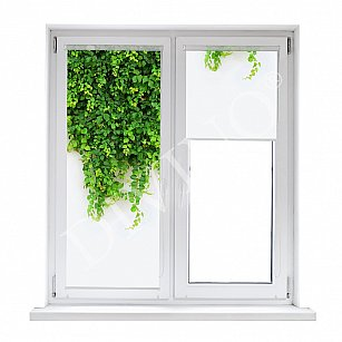"Рулонная штора лен ""Ветви"", 52 см-A"