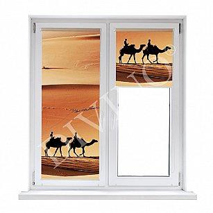 """Рулонная штора лен """"Пустыня"""""""