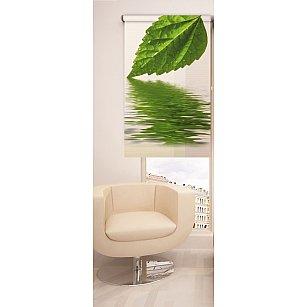 Рулонная штора ролло №163, мультиколор, 60 см