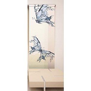 Рулонная штора ролло №166, мультиколор, 60 см-A