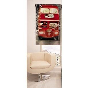 Рулонная штора ролло №1, мультиколор, 60 см-A