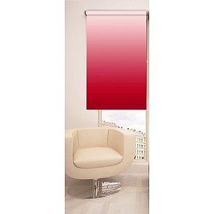 Рулонная штора ролло №241, красный, 60 см-A