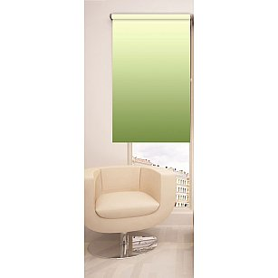 Рулонная штора ролло №262, зеленый, 60 см-A