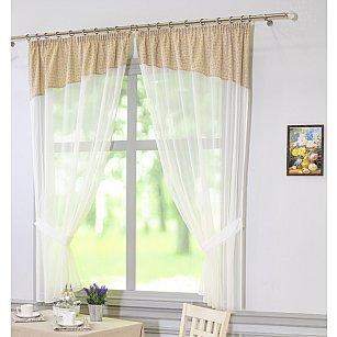 Комплект штор Конфети, дизайн 27-71002