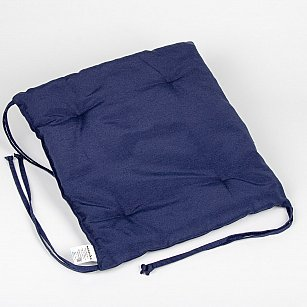 """Подушка для сидения """"Анита""""-7, синий"""