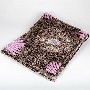 Плед Бамбук Ромашки, розовый, 180*200 см