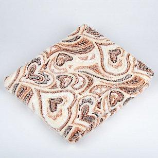 Плед Бамбук, Сердца в ажуре, 180*200 см