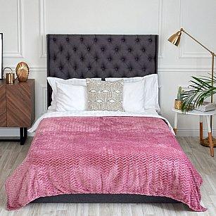 "Плед ""Касабланка"" розовый, 200*220 см"