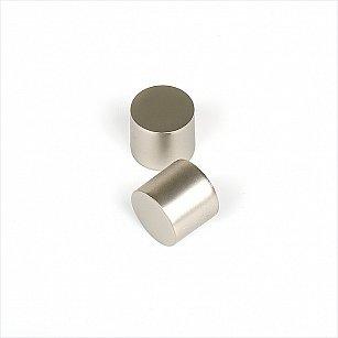 Комплект заглушек для карниза, хром матовый, диаметр 16 мм