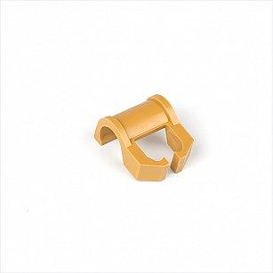 Кронштейн для шины на карниз диаметром 28 мм, бежевый