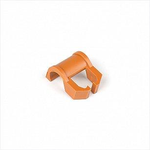 Кронштейн для шины на карниз диаметром 28 мм, вишня