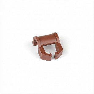 Кронштейн для шины на карниз диаметром 28 мм, коричневый