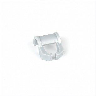 Кронштейн для шины на карниз диаметром 28 мм, белый