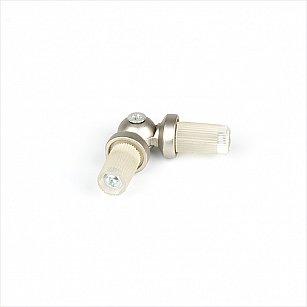 Эркер для металлического карниза, хром матовый, диаметр 19 мм