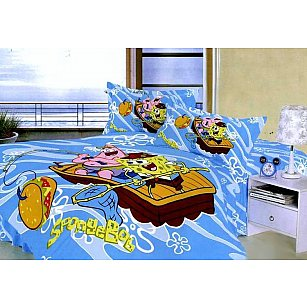 КПБ Детский Сатин дизайн 014 (1.5 спальный)