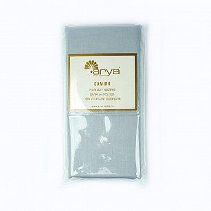 Комплект наволочек Arya Сатин Camino, серый