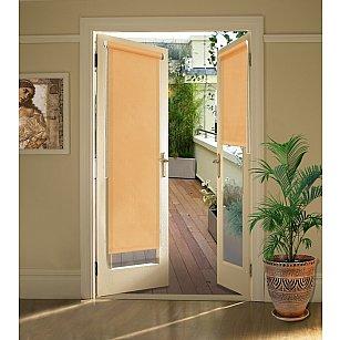 """Рулонная штора для балконной двери """"Абрикос"""""""