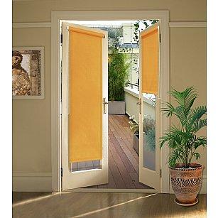 """Рулонная штора для балконной двери """"Апельсин"""""""
