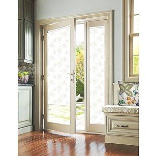 """Рулонная штора для балконной двери """"Эдельвейс лимонный"""""""