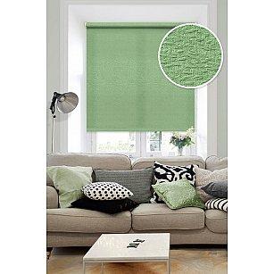 """Рулонная штора """"Морзе"""", зеленый"""