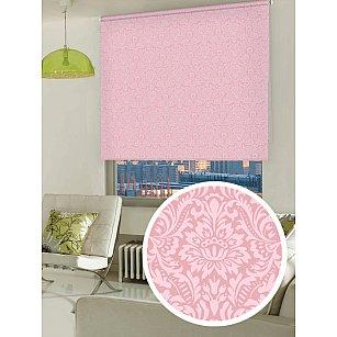 """Рулонная штора ролло """"Люкс Имани"""", розовый"""