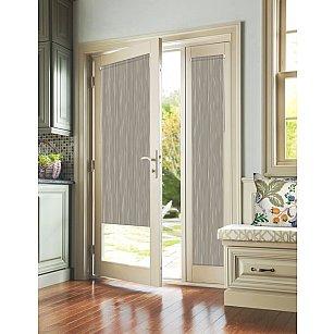 """Рулонная штора для балконной двери """"Стоун коричневый"""""""