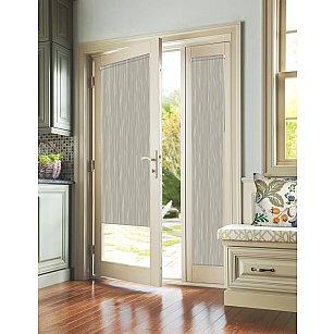 """Рулонная штора для балконной двери """"Стоун серый"""""""