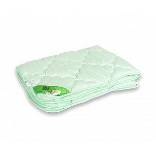 """Одеяло """"Бамбук"""", легкое, зеленый, 140*105 см"""
