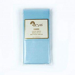 Комплект наволочек Arya Сатин Camino, голубой
