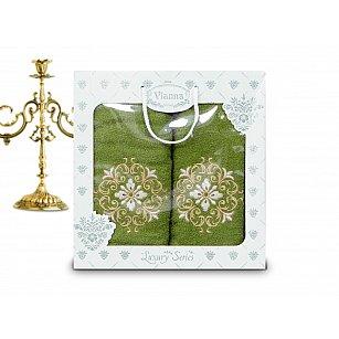 Комплект махровых полотенец Vianna Luxury Series дизайн 04 (50*90; 70*140)