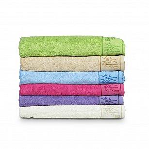 Комплект махровых полотенец El Flower Bamboo дизайн 2, 70*140 см - 6 шт