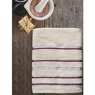 Полотенце махровое TexRepublic Cotton Line, белый, 70*130 см