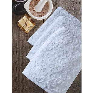 Полотенце махровое TexRepublic Cotton Piramid, белый, 70*130 см