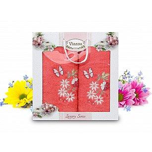 Комплект махровых полотенец Vianna Luxury Series дизайн 11 (50*90; 70*140)