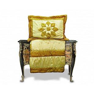 Покрывало Танго PATCHWORK BIG STAR, золотой, 230*250 см