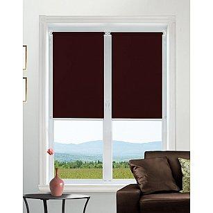 """Рулонная штора mini """"Satin"""", бордовый, 43 см-A"""