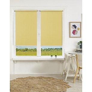 "Рулонная штора mini ""Satin"", желтый, 37 см-A"
